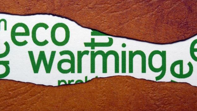 Eco warming concept